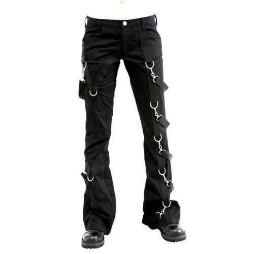 Aderlass Cross Boot Leather Black