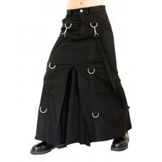 Aderlass Chain Skirt Denim (black)