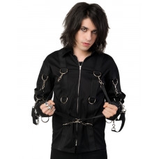 Aderlass Belt Cardy Denim (black)