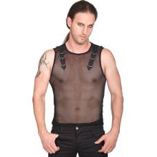 Aderlass Tank Vest Net (black)