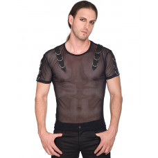 Aderlass Battle Shirt Net SALE (black)