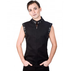 Aderlass Rockstar Vest Denim (black)