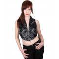 Aderlass Rockstar Top Sky (black)