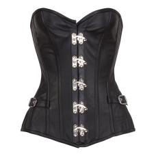 Aderlass Steampunk Corset Leather (black)
