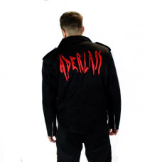 Aderlass Mens Biker Jacket Denim (black)