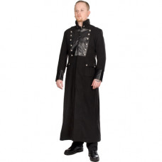 Aderlass Admiral Long Coat Wool SALE (black)