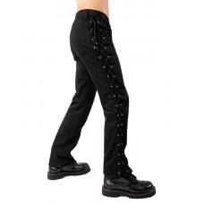 Black Pistol Loop Pants Denim (black)