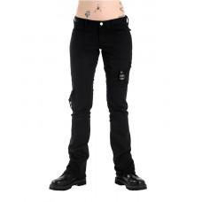 Black Pistol Pocket Hipster Denim (black)
