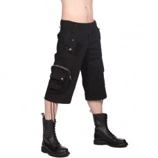 Black Pistol Army Short Pants Denim (black)
