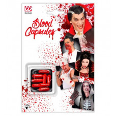 Halloween Blood Capsules Kunstblut Kapseln 8 Stck (red)