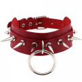 Lovesect Rivet Choker O-Ring Killer (red)