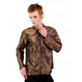 mode wichtig Classic Shirt 2-tone Satin (Gold)