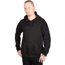 Mode Wichtig Hoodie Kapuzen-Pullover (black)