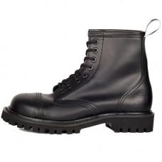 Mode Wichtig 8-Eye Steel Boots Leather (black)