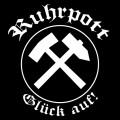 Mode Wichtig Auto-Aufkleber Ruhrpott 10x10cm (black)