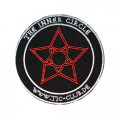 Mode Wichtig Patch TIC The Inner Circle Aufnäher 10cm (black red)