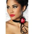 ATIXO Halsband (Red Black)