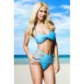 ATIXO Bandeau-Bikini (Light Blue)