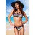 ATIXO Bandeau-Bikini (colorful)