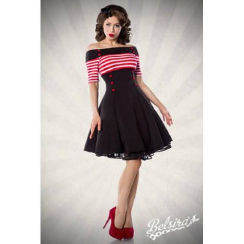 BELSIRA Vintage-Kleid (black   red   white) 8370ecc401
