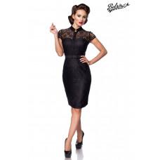 BELSIRA Spitzenkleid (black)