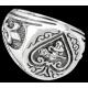 Darksilver Ring GJR013