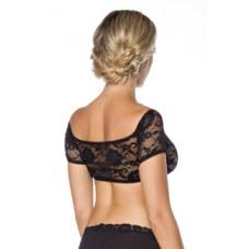 DIRNDLINE Dirndl-Bluse (black)