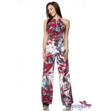 HIPSTYLERS Overall (White-red)