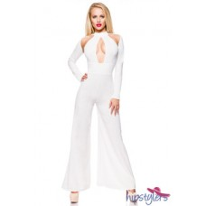 HIPSTYLERS Sexy Overall (White)