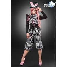 MASK PARADISE Honey Bunny (black / white / pink)