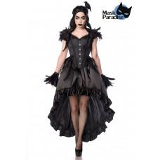 MASK PARADISE Gothic Crow Lady (black)