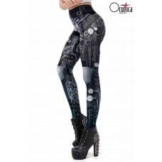 OCULTICA Steampunk Leggings (black)